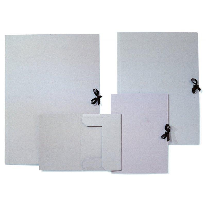 sammelmappe din a3 grau mit band 2 95. Black Bedroom Furniture Sets. Home Design Ideas