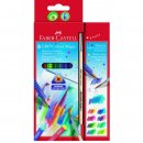 Faber-Castell 8er Colour GRIP Magic mit Pinsel im Kartonetui