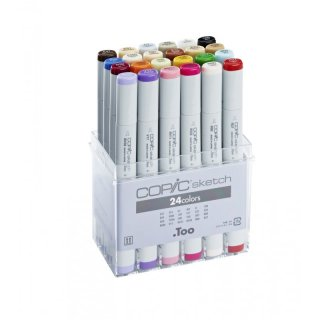 Copic sketch Marker 24er Set