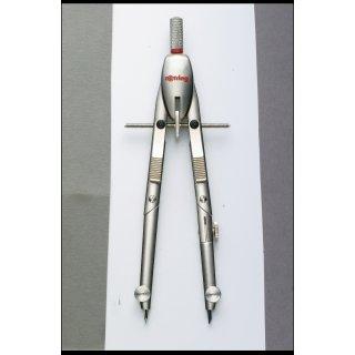 Rotring Schnellverstellzirkel mit Tasten-Mechanik Serie Silver Edition