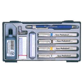 Standardgraph 4er Tuschestiftesatz (0,25mm/0,35mm/0,50mm/0,70mm)