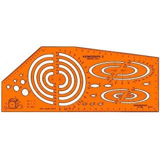 Standardgraph Zeichenschablone Axonograph II DIMETRIC