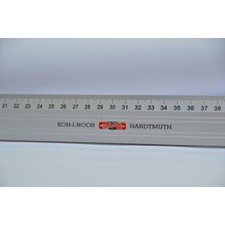 Koh-I-noor Metall Schneidelineal / Länge: 80cm