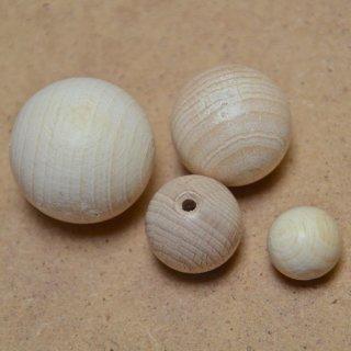 Buche Holzkugeln, halbgebohrt, Durchmesser: 6 mm, VE: 200 Stck.