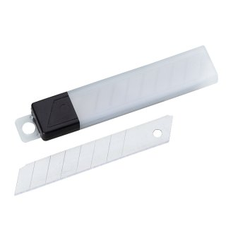 Ersatzklinge für Cutter 18mm, 10 Stück Inhalt
