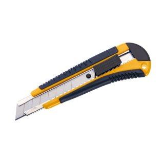 Cuttermesser Profi mit 18mm Klinge und Automatik-Stop