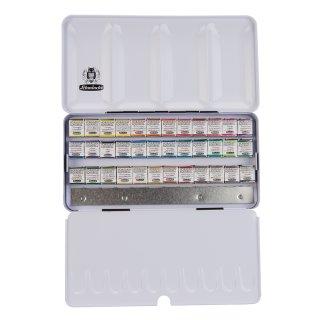 Schmincke HORADAM Aquarellkasten mit 36 Farben