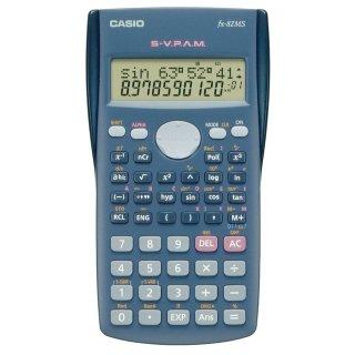 CASIO Schulrechner FX-82 MS, Batteriebetrieb