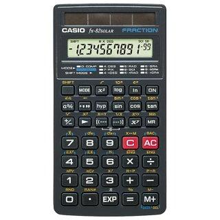 CASIO Taschenrechner FX-82SOLAR 144 Fu  Solarbetrieb 66 5x125x8mm
