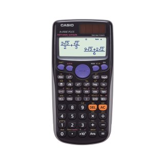 CASIO Schulrechner FX-85DE Plus, Solar-/ Batteriebetrieb