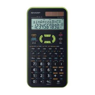 SHARP Schulrechner EL-531XG Grün