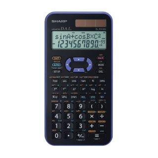 SHARP Schulrechner EL-531XG Violett