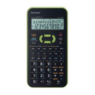 SHARP Schulrechner EL-531XH Grün