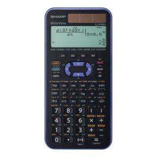 SHARP Schulrechner EL-W506XSL Farbe Violett mit 556 Funktionen, 4 Formelspeicher (F1-F4)