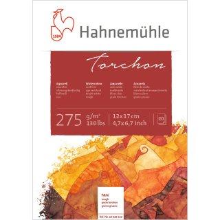 Hahnemühle Torchon Aquarellpapierblock Aquarellkarton 275 g/m² Größe: 12 x 17cm / Blockinhalt: 20 Blatt