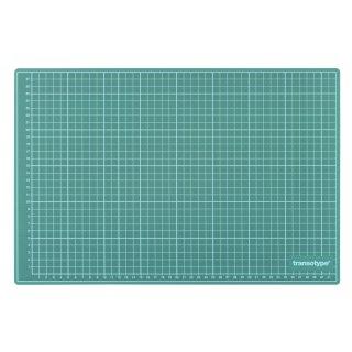 Schneidematte grün/schwarz, 60 x 45 cm