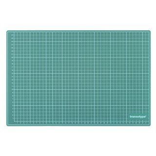 Schneidematte grün/schwarz, 90 x 60 cm