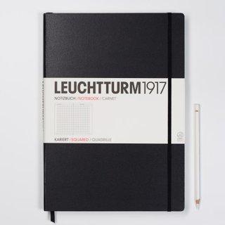 Notizbuch Master (225 x 315 mm), 233 numerierte Seiten, kariert