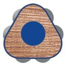 Faber-Castell 12er Jumbo GRIP Farbstifte + Spitzer im Kartonetui