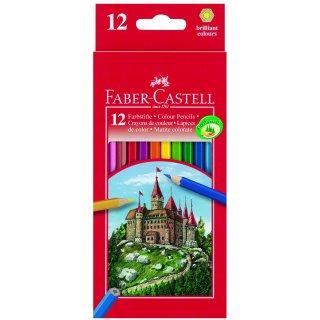 Faber-Castell 12er Classic Colours Farbstifte im Kartonetui