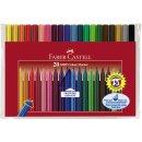 Faber-Castell GRIP Colour Marker, 20er Kunststoffetui