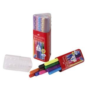 Faber-Castell GRIP Colour Marker, 10er Dreikantköcher