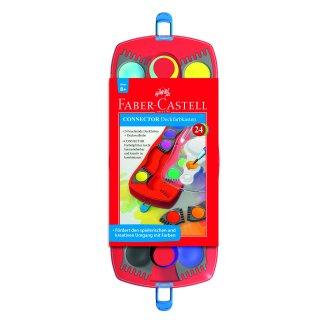 Faber-Castell Connector Farbkasten, 24 Farben