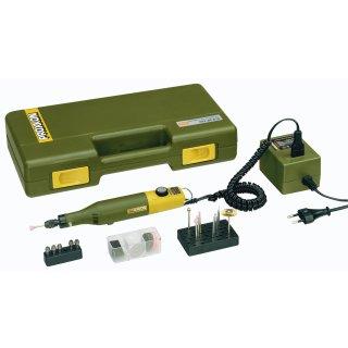 Proxxon Modellbauer und Gravierset mit Bohr und Fräsgerät MICROMOT 50 E
