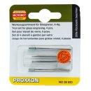 Proxxon Glasbearbeitungs-Set, 4-teilig
