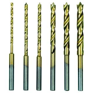 Proxxon HSS-Spiralbohrersatz mit Zentrierspitze