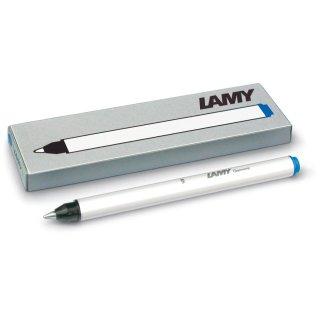 Lamy Tintenrollerpatronen T11, 3 Stck. Inhalt, Blau löschbar