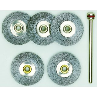 Proxxon Stahlbürsten in Radform