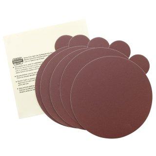 Proxxon Selbstklebende Edelkorund-Schleifscheiben für TG 125/E, Korn 240, 5 Stück