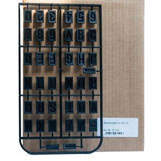 Proxxon Schablonensatz für Graviereinrichtung GE 70