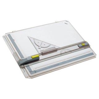 Aristo Zeichenplatte Profi Plus DIN A4 im Kunststoffkoffer