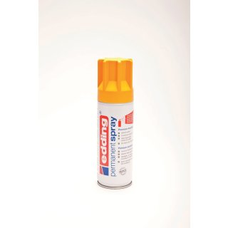 Permanent Spray edding 5200 sonnengelb seidenmatt RAL 1037 200ml