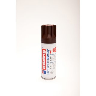 Permanent Spray edding 5200 schokoladenbraun seidenmatt RAL 8017 200ml