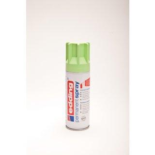 Permanent Spray edding 5200 pastellgrün seidenmatt 200ml