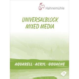 Hahnemühle Universalblock 310 g/m² Größe: 24 x 32 cm / Blockinhalt: 25 Blatt