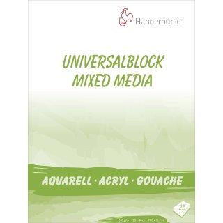 Hahnemühle Universalblock 310 g/m² Größe: 30 x 40 cm / Blockinhalt: 25 Blatt