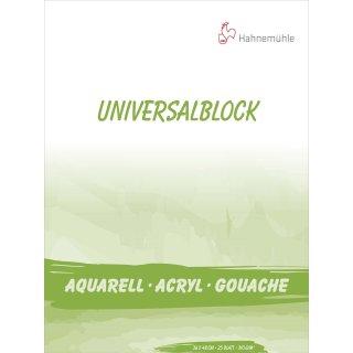 Hahnemühle Universalblock 310 g/m² Größe: 36 x 48 cm / Blockinhalt: 25 Blatt