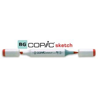 Copic Sketch Marker, Farbe: BG -blue green-