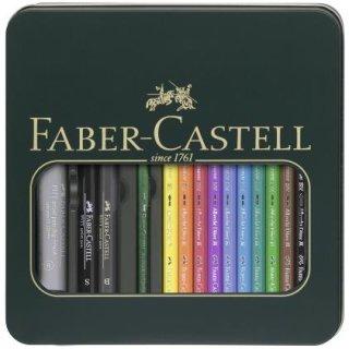 Faber-Castell Geschenketui Mixed Media Albrecht Dürer & PITT artist pen
