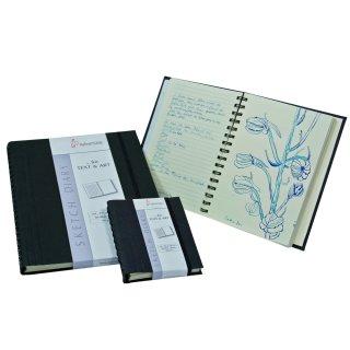 Hahnemühle Notiz- und Skizzenbuch DIN A5, 120 g/m², 60 Blatt
