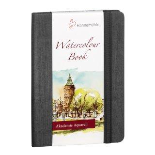 Hahnemühle Watercolour Book Aquarellbuch, A5, Portraitformat, 200 g/m², 30 Blatt