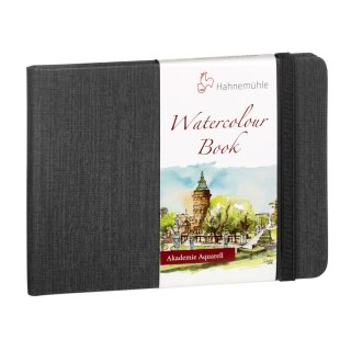 Hahnemühle Watercolour Book Aquarellbuch, A5, Landschaftsformat, 200 g/m², 30 Blatt