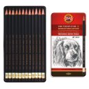 Graphitstifte 12er Set Toison Dòr ART  - Gradation 8B -...