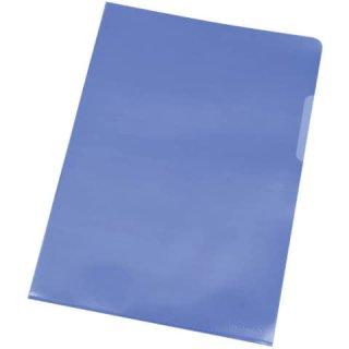 Sichthülle A4 10 Stück blau  KF01643 0,12 mm
