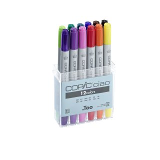 Copic ciao Marker 12 er Set