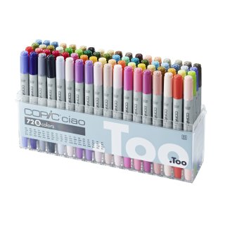 Copic Ciao Marker 72 er B Set